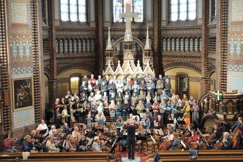 ORKESTER OG KOR: Minst 150 musikere skal bidra i Verdis Requiem.
