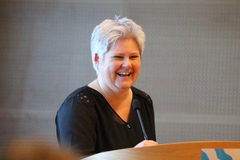 Heidi Sorknes mener forslaget til neste års budjsett er stramt, men godt.