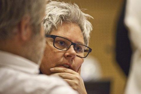 SKEPTISK: Heidi Sorknes (H) måtte be om en protokolltilførsel da fellesnemnda diskuterte renovasjonsordningen i den nye kommunen.