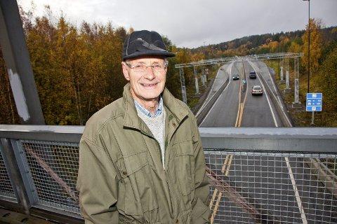 SKUFFET: Tidligere veisjef i Akershus, Stein Fyksen, mener Samferdselsdepartementet bryter EUs tunneldirektiv om de går inn for å kopiere dagens Oslofjordtunnel.