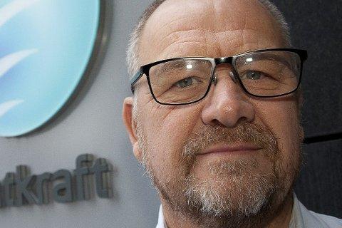 FORNØYD: Kommunikasjonsansvarlig i Statkraft, Geir Fuglseth, sier har brukt mye tid på å teste ut utstyr og ny teknologi.