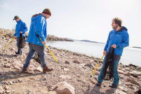 FÅR IKKE STØTTE: Etter avslag på søknaden om støtte fra Miljødirektoratet, er fremtiden noe usikker for prosjektet Fjorden Ren.