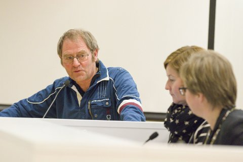 SPURTE: Ole Kjølen (Ap) spurte ordføreren om Oldtidsveien.