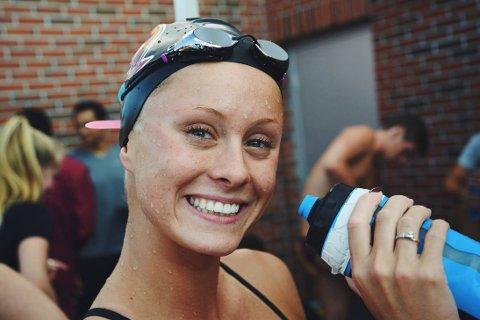 STORTRIVES: Elise Næss Olsen har funnet seg til rette i den amerikanske solskinnsstaten.