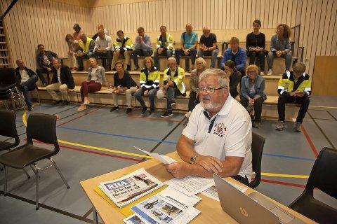BLE IKKE HØRT: Einar Schie fra aksjonsgruppen Toftes Framtid, ble ikke hørt av planutvalget da de behandlet dispensasjon fra reguleringskravet for å bygge demoanlegg på Tofte.