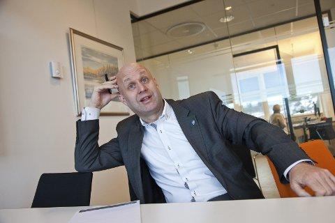 BEKYMRET: Kommunedirektør i Hurum kommune, Lars Joakim Tveit, sier han er bekymret for at de ikke får ned overforbruket. Arkivfoto: Henning Jønholdt