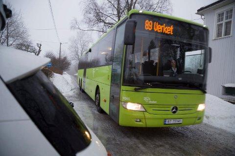 FÆRRE REISER: Brakar har hatt en kraftig nedgang i antall reiser i Røyken og Hurum i 2019.