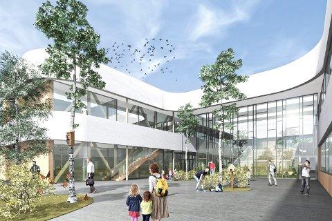 DYR: Torvbråten skole blir forsinket og vil koste minst 50 millioner kroner mer enn beregnet.