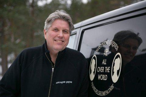 STORDRIFT:Per Aage Holter-Schøyen står bak 17 Søstrene Grene-butikker i Norge og Sverige. HS Retail AS har hovedkontor i Røyken.