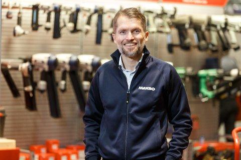 STYRKE: – Kjøpet vil styrke Maxbos posisjon som en ledende leverandør av byggevarer, sier Thomas Støkken, administrerende direktør i Løvenskiold Handel.