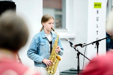 STIPENDVINNER: Greta Stanyte fra Røyken er tildelt et av årets Drømmestipend, og er eneste mottaker i Røyken.