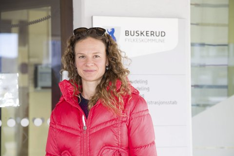 PÅ PLASS: Hanne Lisa Matt fra Røyken MDG er nummer to på lista til fylkestingsdvalget i Viken og førstekandidat i Asker. Arkivfoto