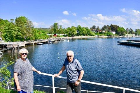 LEI: Synøve og Svein Erik Hetager har ventet lenge på et svar fra Hurum Havner.