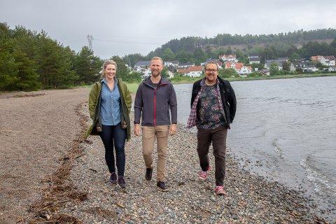 BREDT: Else Marie Rødby, Andreas Brosø og Christian Dyresen sier de har tenkt bredt og familievennlig når de har planlagt festivalen.