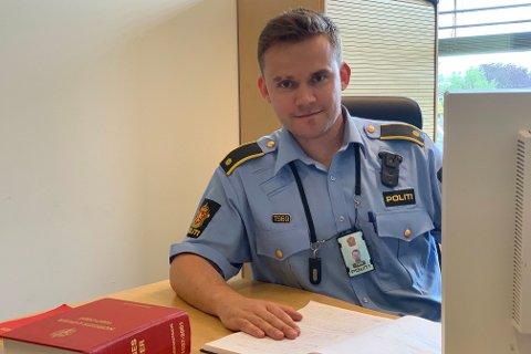 ALVORLIG: Øistein Lian sier politiet ser alvorlig på hendelsen.