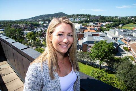 ØKER: Oppslutningen rundt Senterpartiet øker i en ny måling, noe som betyr at Else Marie Rødby kan få fast plass i kommunestyret i nye Asker.
