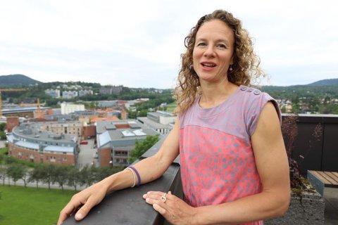 GRATIS BUSS: Hanne Lisa Matt i Viken MDG har fått flertall for forslaget sitt om at alle som vil kan kjøre  gratis buss til valglokale på valgdagen.
