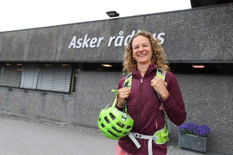 VIL HA BORT UNØDVENDIG LYS: Hanne Lisa Matt vil begrense lysforurensningen.