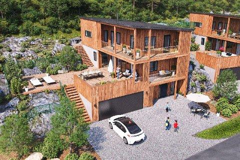 FUNKY: Disse boligene har skapt stor interesse.