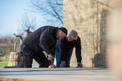 BYGGETID: Byggvarehandlen har merket stor pågang av folk som vil bruke coronoatiden til byggeprosjekter på hjemmebane.