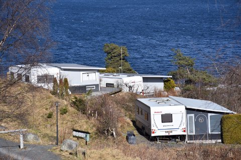 STENGER: Alle campingplasser i Asker er nå stengt.