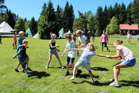 POPULÆRT: Rødbysætra har tilbudt sommercamp siden sommeren 2014, og tilbudet har blitt mer og mer populært for hvert år som har gått. I år ble de 100 plassene fylt opp raskt.