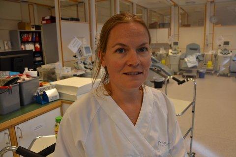 BLODBANKEN: Vi kan ta ut antistoffer av blodet til tidligere korona-smittede, sier Susanne Ross ved Blodbanken til Røyken og Hurums Avis.