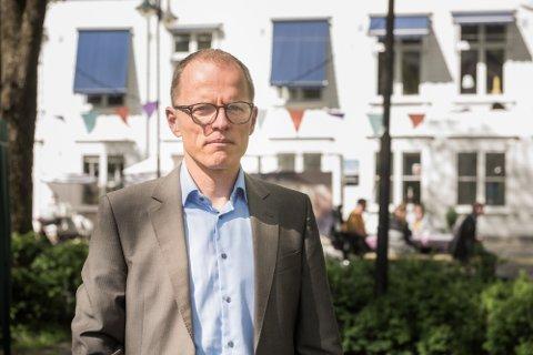 GLAD FOR INNSPILL: Generalsekretær i Frivillighet Norge Stian Slotterøy Johnsen er glad for at regjeringen har lyttet til innspill fra frivilligheten, men venter fortsatt på innholdet i ordningen som nå utvides.