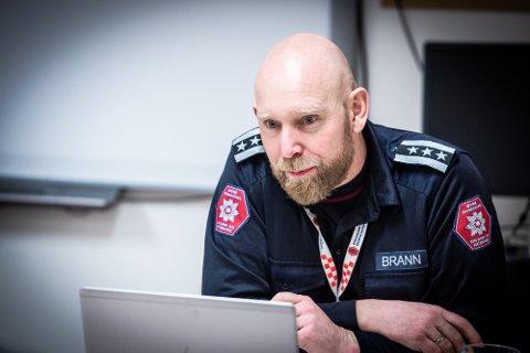 NY SJEF: Anders Løberg går fra brannsjef i Øvre Romerike til ABBR februar neste år.