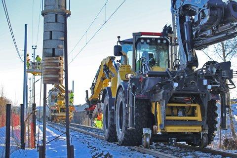 TOGFRIE PERIODER: I påsken går det ikke tog mellom Drammen og Asker, og til sommeren stenges det også på Spikkestadbanen en periode.