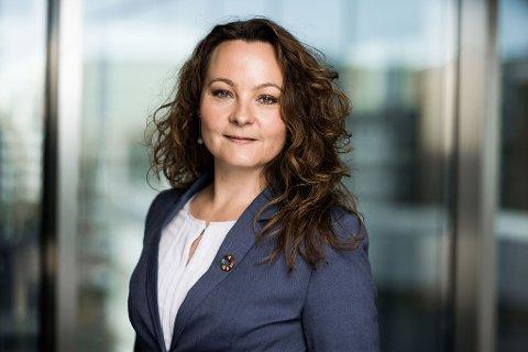 NY JOBB I NHO: Rebekka Borsch (44) rykket opp fra seniorrådgiver til avdelingsdirektør for kompetanse og innovasjon i NHO.
