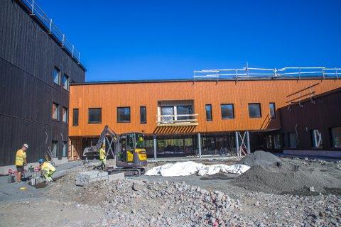 SNART FERDIG: Hurum bo- og omsorgssenter overleveres Asker kommune i midten av oktober.