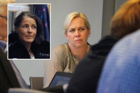 Elin Weggesrud har tatt kontakt med lensmannen for å løse situasjonen som har oppstått rundt kommunestyrerepresentant Patricia Eriksen (innfelt).