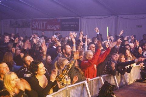 Musikk: Staut trakk fulle hus på Hagan Musikkfestival. Her er det viktig at sandesokningene kjenner sin besøkelsestid i 2017 og bidrar til at arrangementene kan videreføres. Arkivfoto
