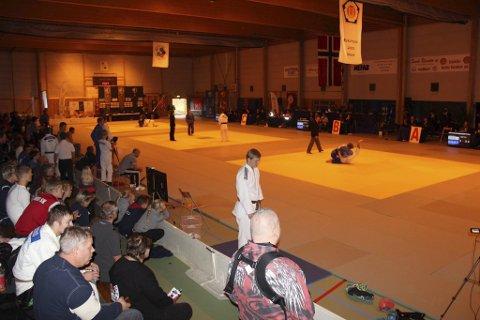 Stort arrangement: SSK judo har også tidligere arrangert NM. Bildet er fra 2014.