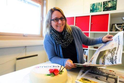 Redaktør Hege Frostad Dahle er fornøyd med opplagsøkning.