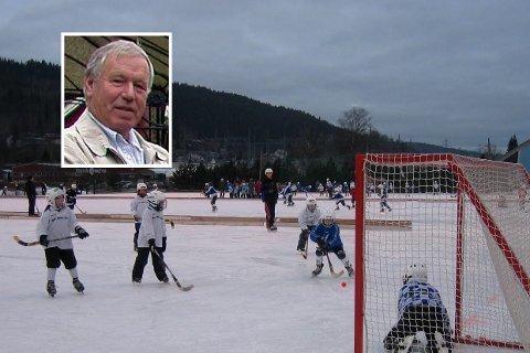 Bør avvise: Roy Nilsen har vært leder i  Selvik IF i 18 år. Han mener at politikerne i Sande bør avvise saken om delfinansiering av garderobeanlegg på Konnerud.