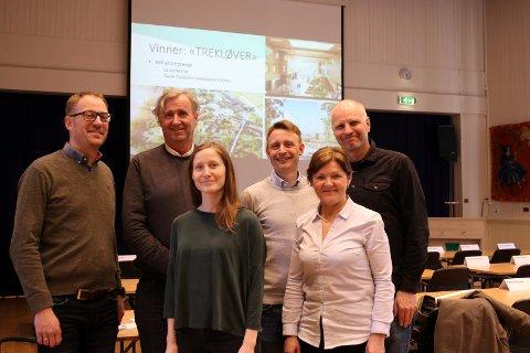 Vinnerne: WK Entreprenør og L2 arkitekter og Gullik Gulliksen landskapsarkitekt