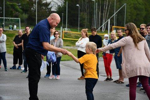 BYTTER BEITE: Selvik-rektor Tormod Ludvigsen tar et års permisjon for å bygge opp et nytt tilbud på Botne skole.