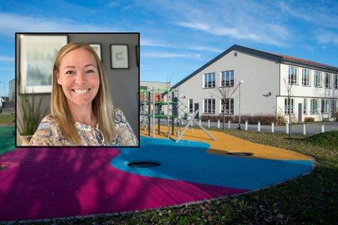 Anette Vislie (38) fra Sande er den nye rektoren på Skoger skole.