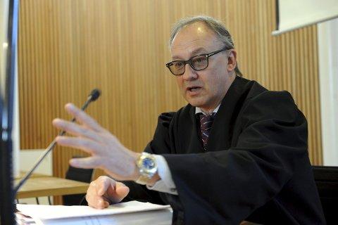 FORSVARER: Advokat Ole Petter Breistøl var forsvarer for 36-åringen i Vestfold tingrett, Sandefjord tingsted.