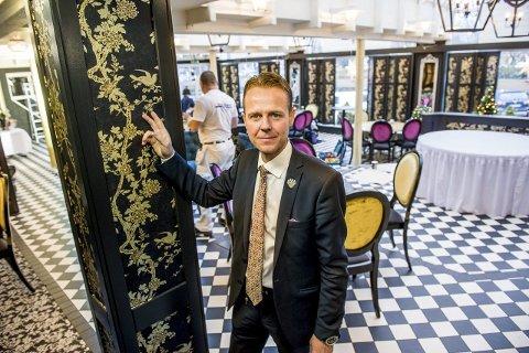 Sjef på to hotell: Sandefjordingen Morten Christensen (46) fyller to på hotelldirektørsko fra nyåret.