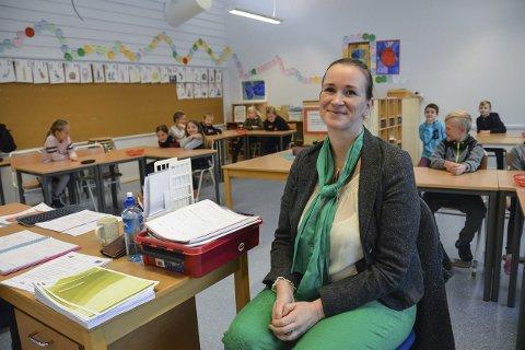 Brer om seg: Sosiolog Anita Fevang har testet ut verdsettelsens fem språk på elever ved Helgerød skole. Nå tar hun med seg prøveprosjektet til Ranvik ungdomsskole også.