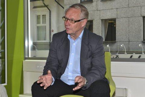 Tor Steinar Mathiassen: Planutvalgslederen formulerte et mer næringsvennlig forslag i møtet, og fikk alle partiene med seg. Arkivfoto: Frode Moe