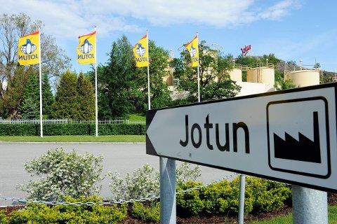 Vokser: Jotun vokser og er nå det 37. største selskapet i kongeriket. Arkivfoto: Kurt A. Høyessen