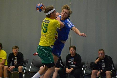 MATCHVINNER: Simen Holand Pettersen er toppscorer i 1. divisjon. I helgen storspilte han for G18, og ble blant annet matchvinner fem sekunder før slutt mot FyllingenBergen.