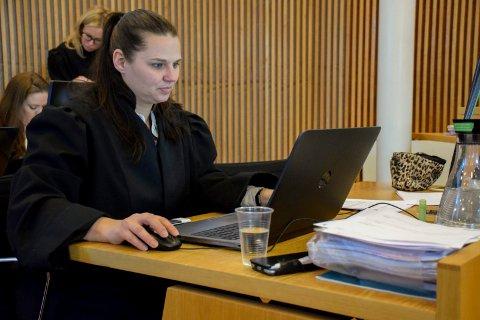 Politiadvokat Nina Aaskjær.
