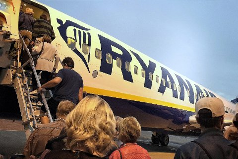 Øker: På Gardermoen forventer man seg ny trafikk som følge av Ryanair-flyttingen.Foto: Jon Gran