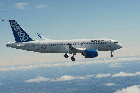 HAMMERFEST-OSLO: Dersom Widerøe velger å investere i Bombardiers jetfly CS100, kan en direkterute mellom Oslo og Hammerfest være praktisk mulig.