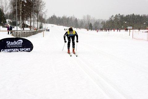 FLOTTE LØYPER: Tom Horntvedt melder om flotte løyper i Storås søndag formiddag. Her fra skirenn på  Storås skistadion i 2014.